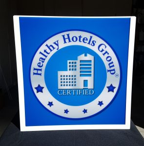 Healthy Hotels Group Sign